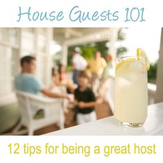 Hosting House Guests 101 - 12 tips for being a great host to family and friends… Guest Bedrooms, Guest Room, House Guests, Invitation, Air B And B, Guest Gifts, Southern Hospitality, Happy Thanksgiving, Things To Know