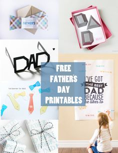 tell love and chocolate: FREE FATHER'S DAY PRINTABLES! These are adorable!!