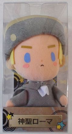 Hetalia Axis Powers Official Plush Doll Holy Roman EMP Figure Japan Anime | eBay
