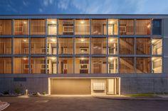 Haefeli Architekten Döttingen Switzerland Architects Garage Doors, Building, Switzerland, Outdoor Decor, Furniture, Home Decor, Homes, Architects, Decoration Home