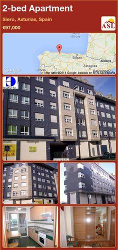 2-bed Apartment in Siero, Asturias, Spain ►€97,000 #PropertyForSaleInSpain
