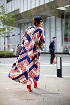 On the street... Kim Nayoung Seoul fashion week 2014 S/S ~ echeveau