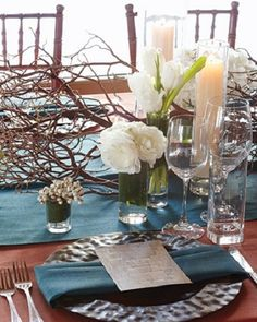 20 Rustic Wedding Centerpiece Ideas Click on the picture above to read a news article I found that helped me so much when shopping online especially buying things you see on Pinterest. A Must Read.