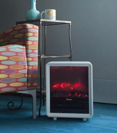 Wonderfully designed Crane USA heater in the living area