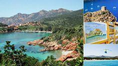 La presencia del mar Mediterráneo impregna casi todos los rincones de la isla francesa de Córcega.