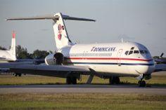 PAWA Dominicana, McDonnell Douglas DC-9-31 N919RW Mcdonald Douglas, Buses, South America, Airplane, Planes, Trains, Caribbean, Aviation, Aircraft