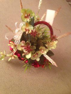 Flowers in a purse!