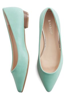 Follow the Arrow Flat in Mint, @ModCloth
