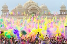 Hindu festival of color in India for our #Hindi #language week. Interested in learning Hindi? Check out our course outline here: http://www.cactuslanguage.com/en/languages/hindi.php