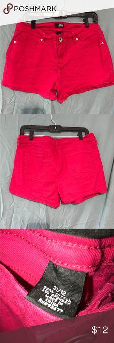 Pink shorts Hot pink jean shorts a.n.a Shorts Jean Shorts