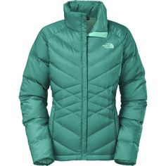 The North FaceAconcagua Down Jacket - Women's.  I like the New Taupe Green color.
