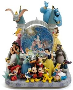 Disneyland Paris Group Snowglobe