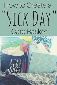 Sharing a great way to ShareKleenexCare by creating an awesome basket for a sick person! You can find all these things at Walmart! AD
