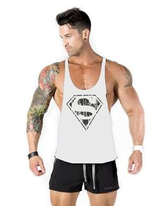 d8d8042ecbcba 2017 New Men s 100% cotton Fitness men Tank Top