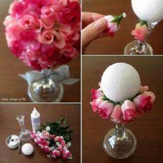 Decoration: flower ball bouquet wedding centerpiece