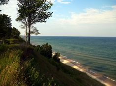 orchard beach state park, manistee michigan