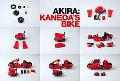 Remember the good things... AKIRA, Kaneda's bike by Kosbrick.  #lego #legogram #instalego #legostagram #legophotography #alternabricks #akira #kanedasbike