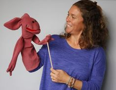 Social Workers with Catholic Relief Services use puppets to help Syrian refugee children process trauma