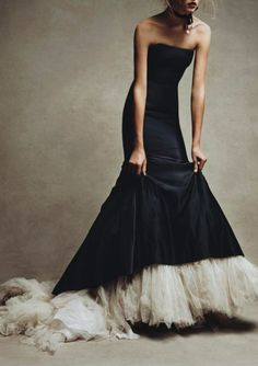 this is more than a dress, these are someone's fears and longings made in a dress . . .