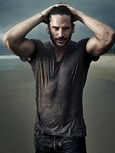 alcide... true blood. So delish