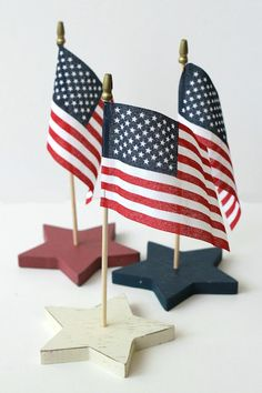 Target Dollar Spot Fourth Of July Centerpieces