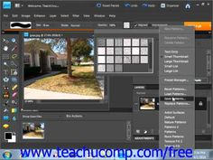 Learn how to use the pattern stamp tool in Adobe Photoshop Elements at www.teachUcomp.com. A clip from Mastering Photoshop Elements Made Easy v. 9.0. http://www.teachucomp.com/free - the most comprehensive Photoshop Elements tutorial available. Visit us today!