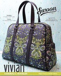 Bag Pattern - Swoon Vivian Handbag
