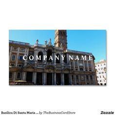 The fontana del pantheon portrait rome italy business card basilica di santa maria maggiore rome italy business card reheart Images