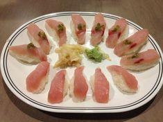 "Yellow Tail ""Hamachi"" Sushi"
