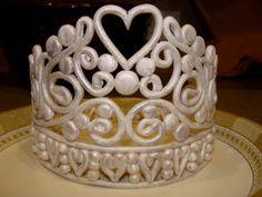 tiara template for fondant - Google Search