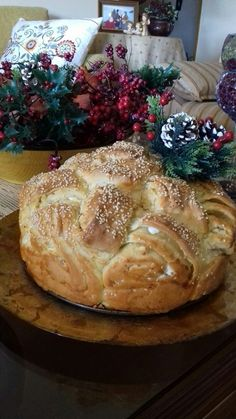 Pizza Pastry, Greek Cooking, Christmas Cooking, Greek Recipes, Food To Make, Biscuits, Bakery, Rolls, Food And Drink
