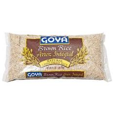 """Cook's Illustrated's tested """"best brown rice""""- Goya Brown Rice Natural Long Grain Rice"""