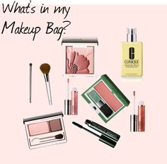 """What's in my makeup bag?"" by brungarde on Polyvore"