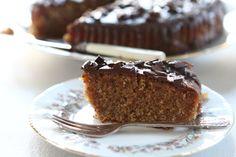Chocolate Orange Drizzle Polenta Cake