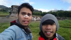 Selfie from candi arjuna