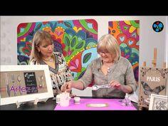 En el espacio de ArteZ, la profesora Mónica Godfroit realiza la técnica de Transferencia sobre un cuadro de arpillera.Visitá: http://www.pinturaseterna.com.ar https://www.facebook.com/PinturasEternahttps://twitter.com/PinturasEterna