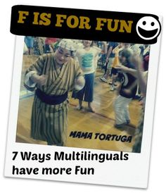 Check it out! A wonderful peek at how being multilingual enriches your life!