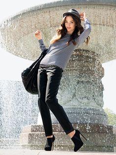 Schnittmuster: Ringelshirt - Ringed Shirt - Shirts - Damen - burda style