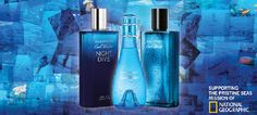 Davidoff Cool Water em parceria com National Geographic