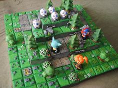 Krosmaster/Super Dungeon Explore 3D scenery and stuff