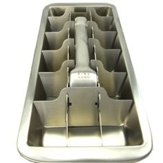 Metal ice cube trays