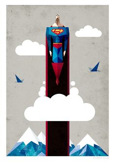 Superman by 7 Vectores