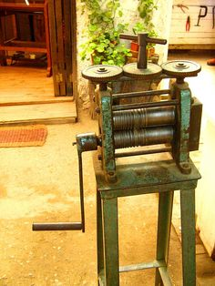 Well used rolling mill.