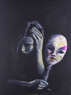 The Mask She Hides Behind, Sara Riches