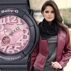 The Baby G BGA131-8B is the perfect accessory this fall!