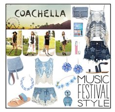 """""""music festival style"""" by ramos-jackie ❤ liked on Polyvore featuring River Island, Sans Souci, Ancient Greek Sandals, TIBI, Steve Madden, Rebecca Minkoff, Talbots, Christian Dior, claire's and Marc Jacobs"""