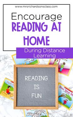 Let's encourage our virtual students to keep reading at home while distance learning. This blog post has 8 fun ways to get students to read at home. These activities and tips for parents are sure to motivate and encourage elementary students and parents!