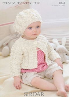 the online pattern store Knitting Patterns Uk, Baby Patterns, Weaving Patterns, Knit Baby Sweaters, Cute Sweaters, Crochet Bebe, Knit Crochet, Baby Layette, Knitting For Kids