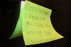 Try adding your own little reminders Check us out at http://raveministries.org