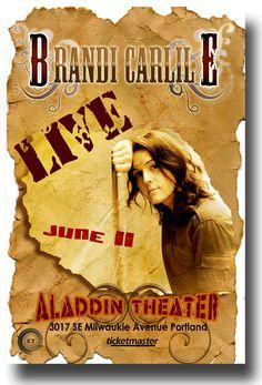 Brandi Carlile  Poster Concert $9.84